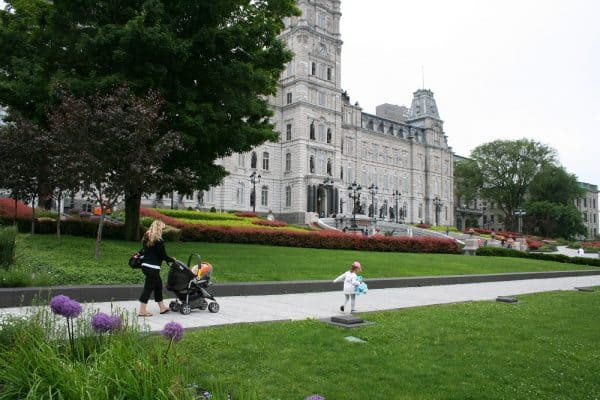 Best Vacations with a Baby, Vacations with a Baby, best places to travel with a baby, places to travel with a baby, quebec city with baby