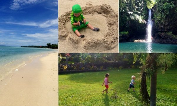 Best Vacations with a Baby, Vacations with a Baby, best places to travel with a baby, places to travel with a baby, samoa with baby