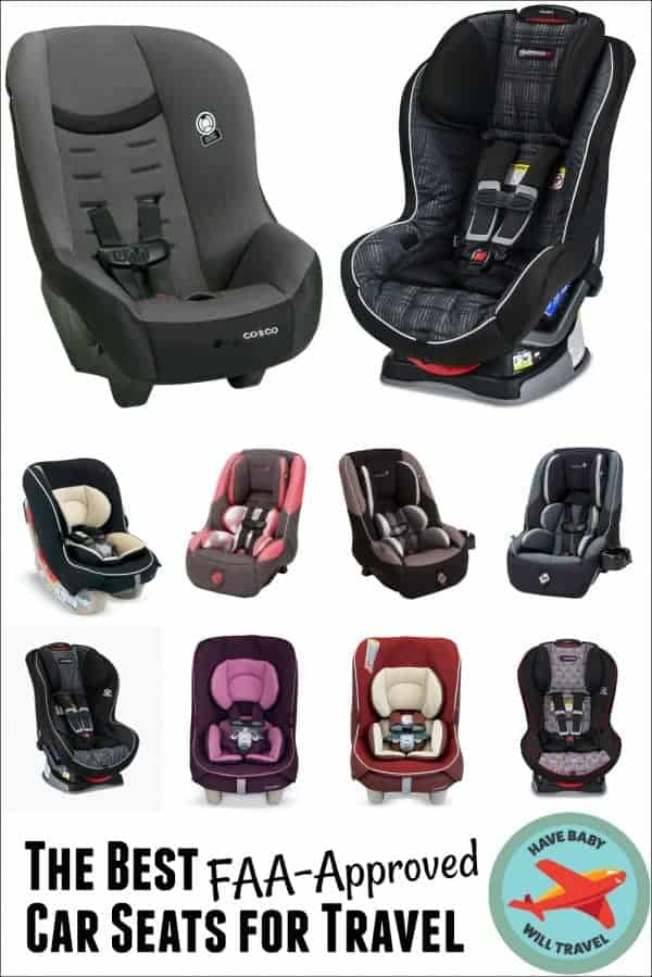 Best FAA-Approved Car Seats for Travel