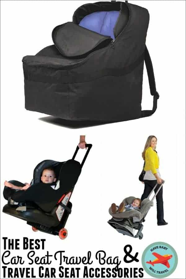 The Best Car Seat Travel Bag and Travel Car Seat Accessories