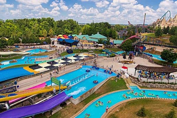 Canadas Wonderland Splash Works with a Baby or Toddler