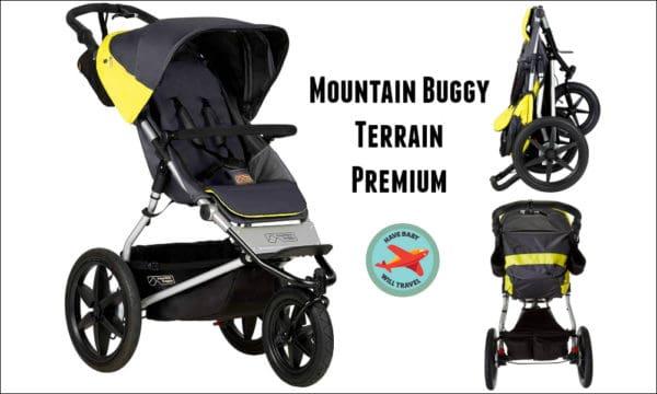 Travel Stroller for Baby Yoda - the Mountain Buggy Terrain Premium
