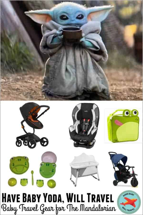 Baby Travel Gear for Baby Yoda