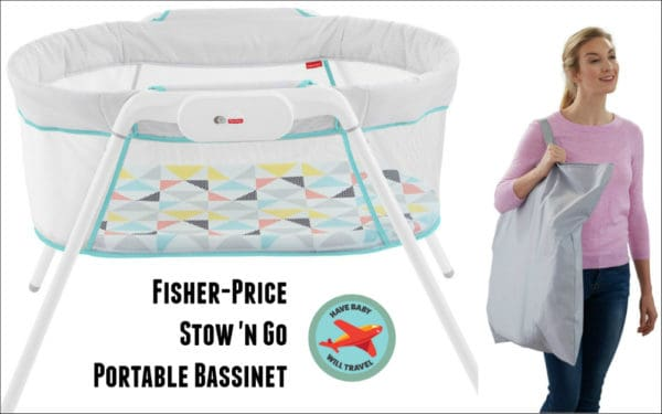 Travel Bassinet for Baby Yoda - Fisher-Price Stow 'n Go