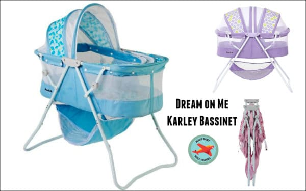 Travel Bassinet for Baby Yoda - the Dream on Me Karley
