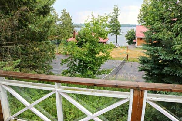 The view from our Guest Room at Viamede Resort