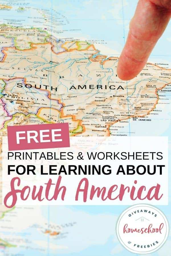 free South America homeschool curriculum
