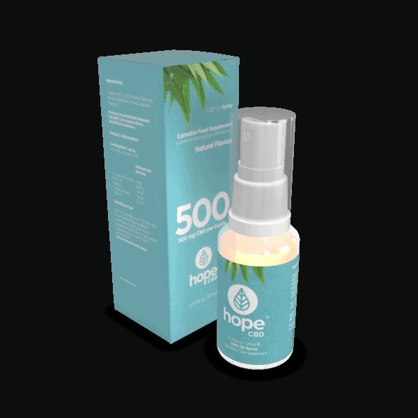 500mg CBD Spray