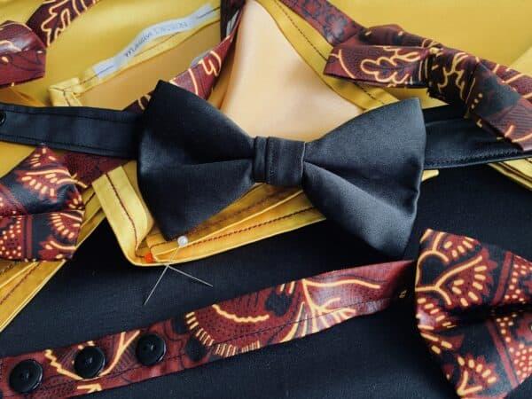 Nœuds papillon & mouchoirs à costume