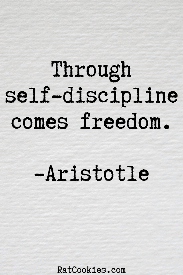 Aristotle self discipline