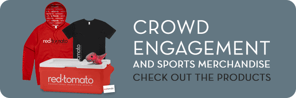 crowd engagement and sports merchandise