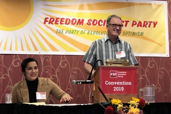 Freedom Socialist Party New Year's Greetings for 2020: In anticipation of another year of global resistance