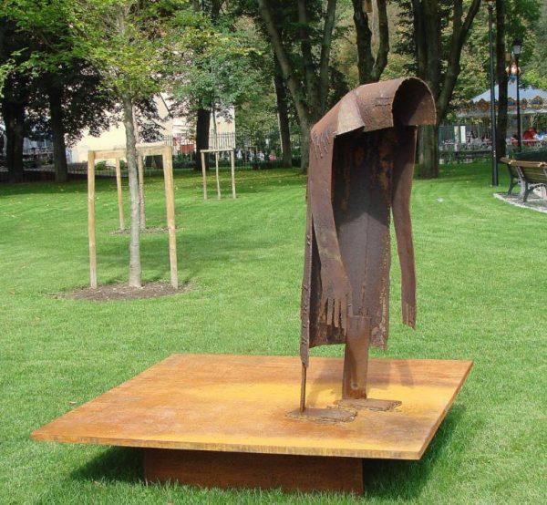 """,,GODOT ,, Dedication to Samuel Beckett"" - Original Artwork by Stasys Zirgulis"