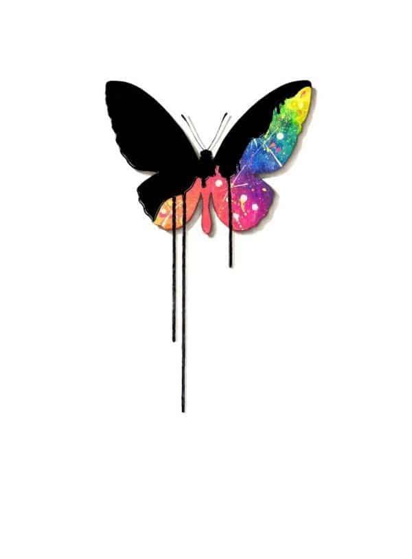 """Butterfly - Rainbow - Signed Limited Edition"" - Original Artwork by VeeBee VeeBee"