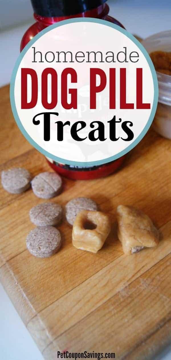 Homemade Dog Pill Treats (to help your dog take medicine)