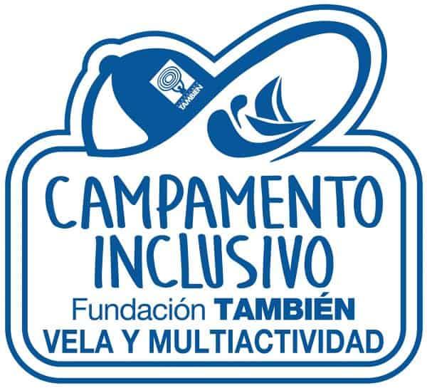 Logotipo Campamento inclusivo de Vela y Multiactividad Fundación También