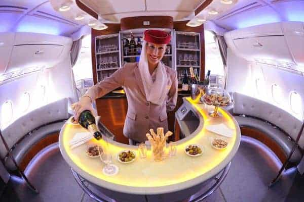 emirates airline first class experience