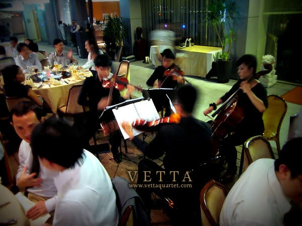 String Quartet, Jing Restaurant, One Fullerton