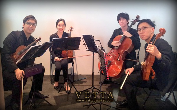 Office Opening - Singapore String Quartet