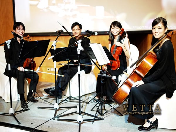 Vetta Quartet at Ritz Carlton Singapore