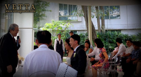 wedding solemnisation at glass pavilion amara sentosa