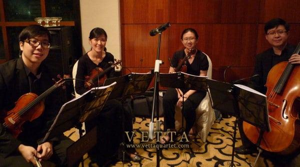 Wedding String Quartet at The Sentosa Resort & Spa