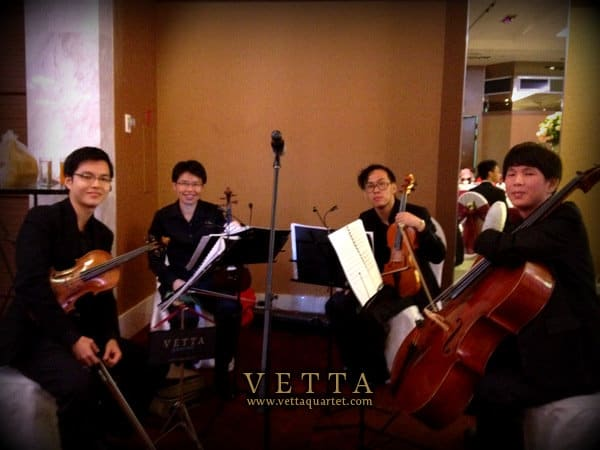Hotel Fort Canning Singapore Wedding String Quartet