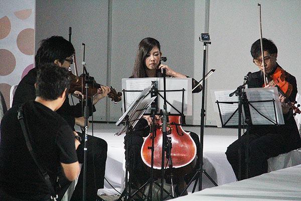 string quartet for modelling event