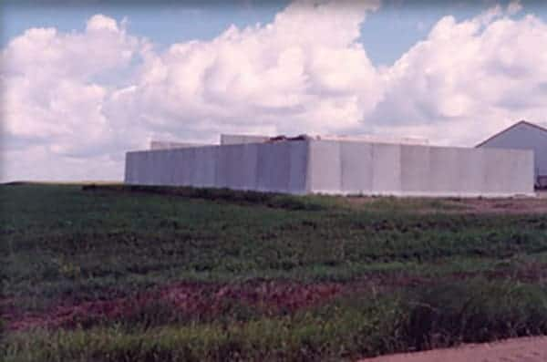 MULTIPLE-CELL BUNKER SILO PROJECT