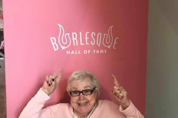 Gail Winns visits BHoF