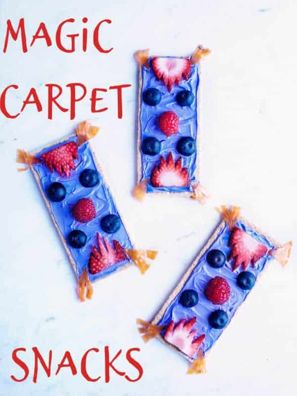 Aladdin Magic Carpet snacks