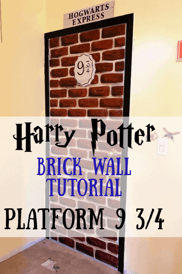 Harry Potter Brick Wall Mural