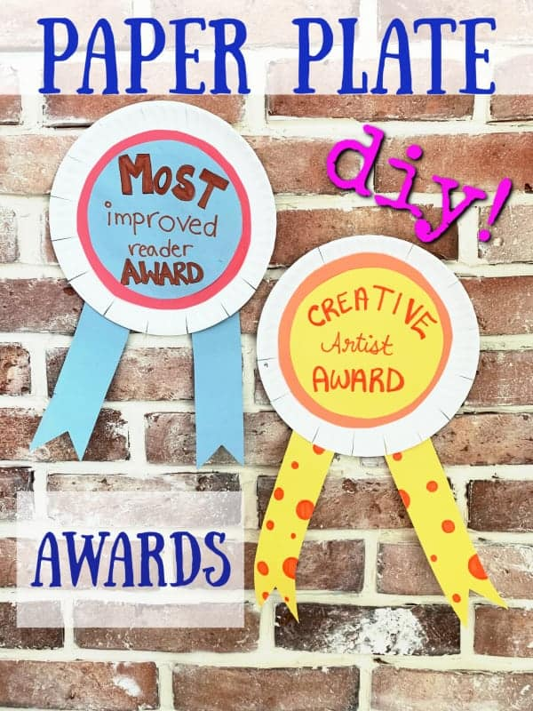 paper plate awards graphic