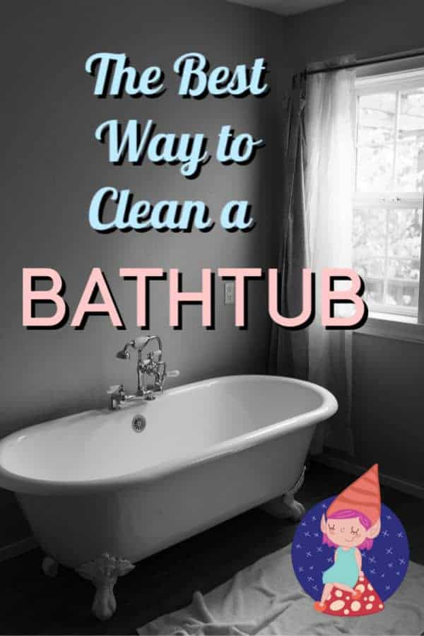 how to clean a bathtub