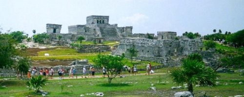 Tulum's ruins are a manageable trip with kids and teens