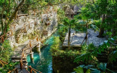 Xcaret is a resort-meets theme-park on the mayan riviera