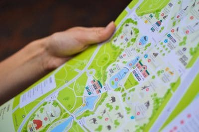 a colorful map can be a background for photos