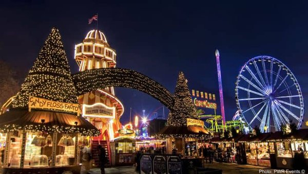 Rides in hyde park in the holiday season