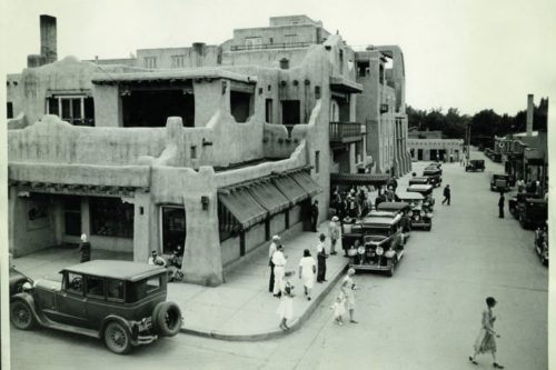 La Fonda in its early days
