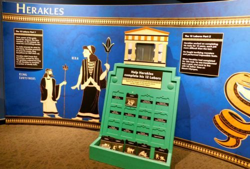 The indiana children's museum teaches kids about herakles
