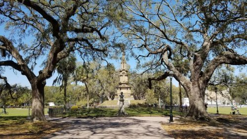 With its live oaks, fountains, paths and playgrounds, forsyth park is a popular destination for families visiting savannah