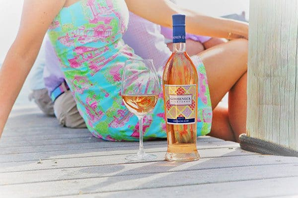 gooseneck vineyards wine Rosé
