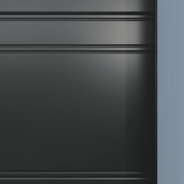 Crawford_Flair_Slät - Dekor gråmetallic