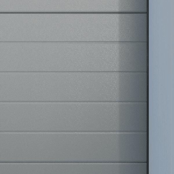 Crawford_Linea_Brilliant Grå aluminium