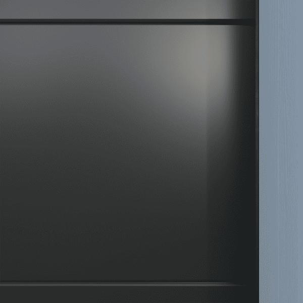 Crawford_Style_Slät - Dekor gråmetallic