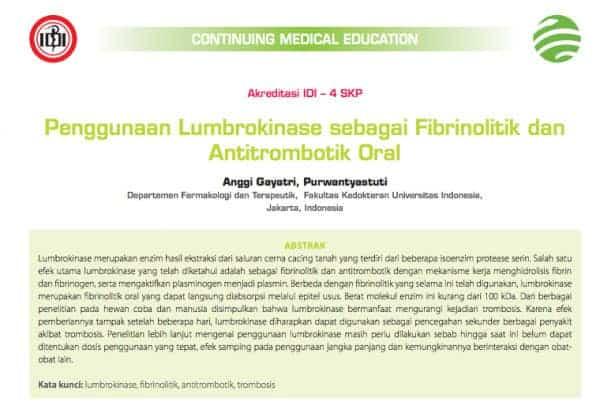 jurnal ilmiah obat jantung koroner dan stroke