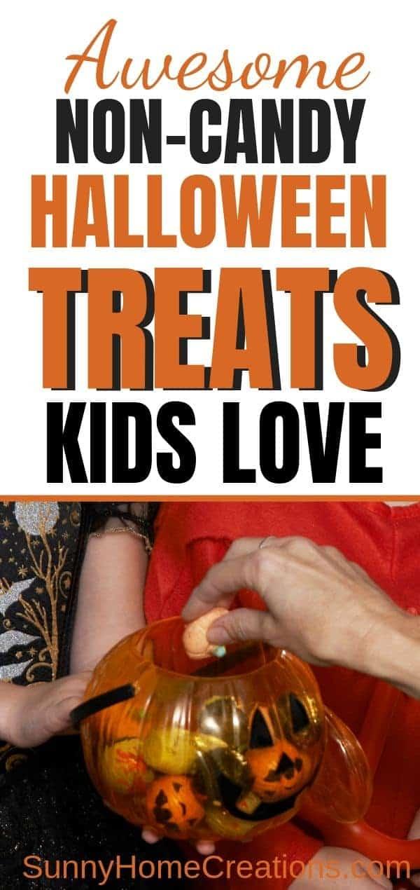 non-candy Halloween Treats Kids LOVE