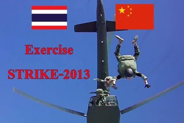 "The Fourth Joint China-Thai ""Special Operations"" Military Exercise"