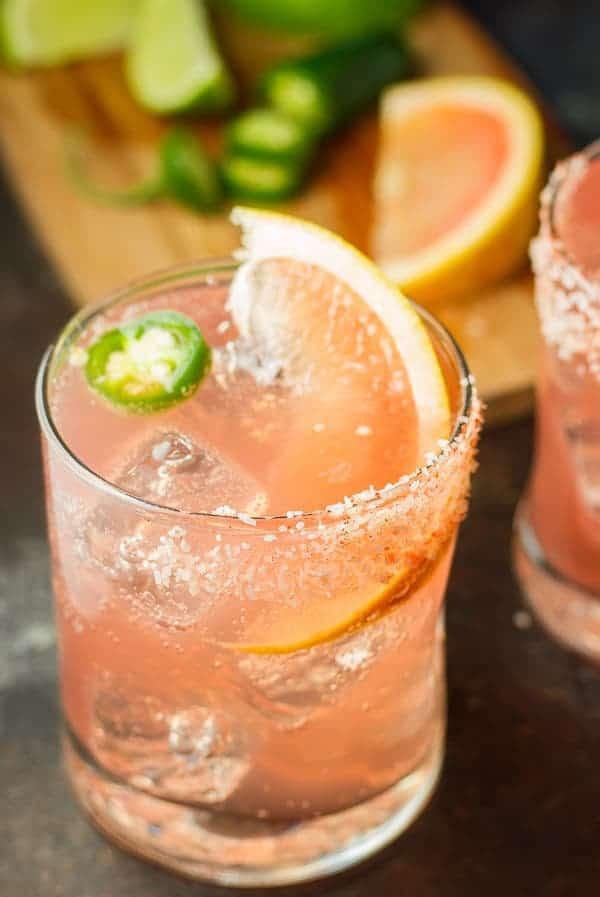 Mezcal Grapefruit Cocktail