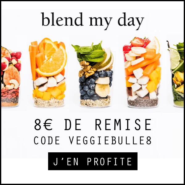 Code de réduction blend my day : VEGGIEBULLE8
